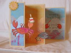 Crabby B-day by pbft - Cards and Paper Crafts at Splitcoaststampers