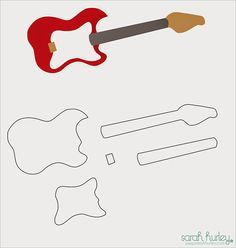 Are you into cakes and bakes? Here is a fresh design of guitar cake which is to be baked with zeal and then posted on a template design. Guitar Party, Guitar Cake, Guitar Cupcakes, Bolo Musical, Guitar Birthday Cakes, Cake Templates, Templates Free, Music Cakes, Rock Star Party