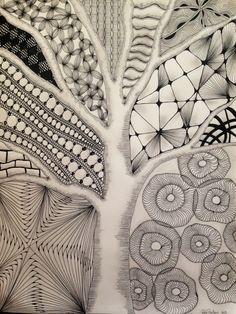 Zentangle By Rikke Poulsen 2013