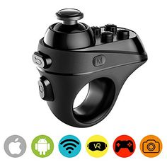 ElementDigital VR Remote Controller Bluetooth 4.0 - Rechargable Game Joystick for 3D VR Headset / Mini Wireless Gamepad with Micro USB Charging Port & LED Indicator for iPhone iOS & Android Phones  http://topcellulardeals.com/product/elementdigital-vr-remote-controller-bluetooth-4-0-rechargable-game-joystick-for-3d-vr-headset-mini-wireless-gamepad-with-micro-usb-charging-port-led-indicator-for-iphone-ios-android-ph/  MULTI-FUNCTION 3D VR REMOTE CONTROLLER: This remote
