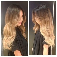 Beautiful Blend On This Beauty!  Color by Diana. Fiorio, fioriosquareone, fioriosalon, balayage, sombre, blend, blonde, olaplex, revlon, revlonprofessional, ombre, longhair, waves, falllook, babylights, colorist, mississauga, toronto, besthairsalon, squareone, caramel, texture, makeover, warm, fallhair, hair, instahair, picoftheday, pretty, beautiful