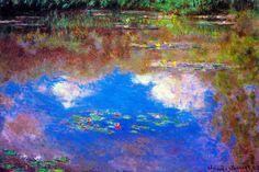 lily pond monet - Google Search