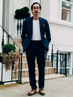 Style Well Travelled featuring Karlmond Tang from Mr Boy wearing Reiss