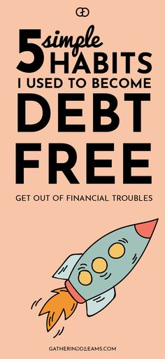 Follow these 5 simple tips to stay out of financial trouble, take control of your finances, and make sure your financial future is in your hands! Click on this pin to learn how to become debt free forever!
