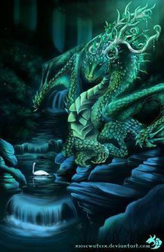 ::Through Diamond Dragon Eyes::. by XRosewaterX Fantasy Art Green Dragon, Fire Dragon, Dragon Blood, Black Dragon, Magical Creatures, Fantasy Creatures, Fantasy Dragon, Fantasy Art, Dragon Medieval