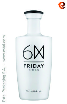 Friday Chic GIN by Caves da Montanha and designed by SeriesNemo. Exclusive character.