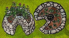 raised beds --keyhole garden