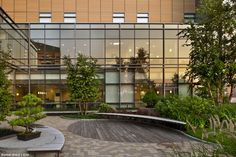 Betty Ruth  and Milton B Hollander Healing Garden / Smilow Cancer Hospital at Yale New Haven