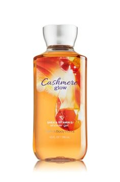 Cashmere Glow Shower Gel - Signature Collection - Bath & Body Works