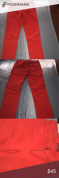 James Jeans Incredible new low price! Amazing red skinny jeans. Very flattering! James Jeans Jeans Skinny