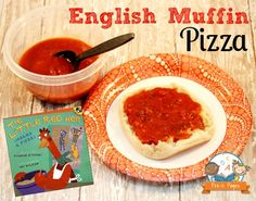 Free Printable Picture Recipe for Little Red Hen Makes a Pizza
