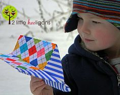 Fabric Airplane Tutorial from 2 Little Hooligans