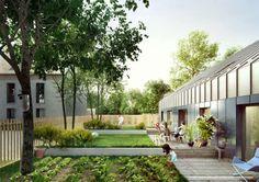 Construction de 10 logements semi-collectifs : croixmariebourdon architectures