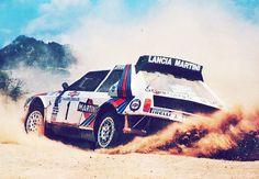 Lancia Delta S4 rally car - Group B - WRC