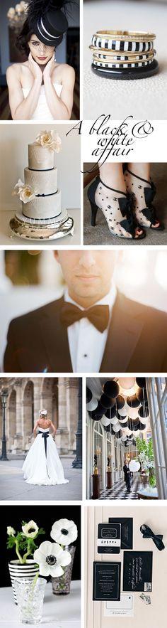 Black and white asian wedding — photo 11