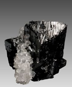 Ilvaite with Quartz 1st Sovietskiy Mine Dal'negorsk Russia miniature