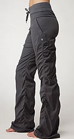 Another staple in my wardrobe - the dance studio pant. I have lined, unlined & crops - I must really like them!
