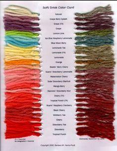 DIY Pastel Kool-Aid Dyed Silk Thread Bracelet Tutorial from For the Makers. Top Photo: DIY Pastel Kool Aid Colors Tutorial from For the Makers. Bottom Photo: DIY by For the Makers. Kool-Aid Dye Chart here. How To Tie Dye, How To Dye Fabric, Kool Aid Hair Dye, Dye Hair, Blue Raspberry Lemonade, Spinning Yarn, Color Card, Yarn Colors, Bunt