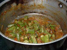 Pakistani Cooking: Bindi...Okra-Recipe number one