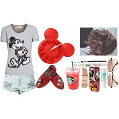 """Mickey Time"" by kenzilee43 on Polyvore"