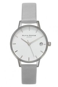 Olivia Burton The Dandy Grey & Silver Watch OB15TD13