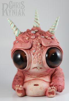 Cutest monster ever. (artist: Chris Ryniak)
