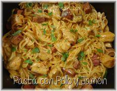 Los Inventos de Lisa: Pasta con Pollo y Jamón
