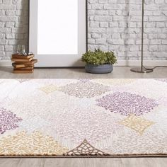 Persian-rugs Taksim Pastel Colors Area Rug