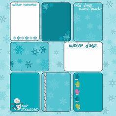 Frosty Fun: Journaling Cards