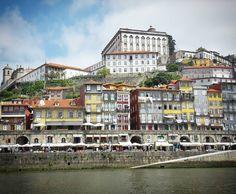 Cais da Ribeira in Porto  #porto #portugal #portocruise #caisdaribeira #ribeira #douro #riodouro #travel by roulie222