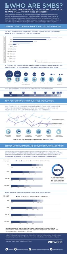 Cómo son las Pymes #infografia #infographic #internet