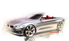 BMW 4 Series Convertible - Design Sketch