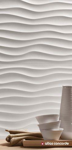 Natural allures on the walls. | 3D WALL DESIGN / DUNE | atlasconcorde.com