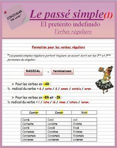 Le passé simple (ficha) #apprendreanglais,apprendreanglaisenfant,anglaisfacile,coursanglais,parleranglais,apprendreanglaisfacile,leconanglais,apprentissageanglais,formationanglais