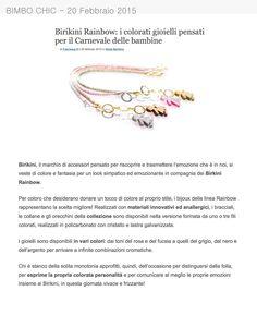 Bimbo Chic parla dei #bijoux #birikini per Carnevale!