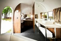 Luxe Urban Camping: The Hotel Daniel Airstream in Vienna