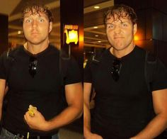 Dean Ambrose aka sexy goofball