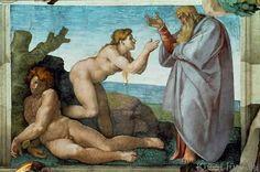Michelangelo Buonarroti - The Creation of Eve