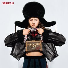 A preview of my #lvseries5 campaign starring the stunning @selenagomez pic by @bruce_weber #louisvuitton
