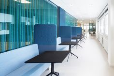 TNO Helmond – Automotive Campus by Hollandse Nieuwe - Office informal meeting space Holland, Conference Room, Space, Table, Furniture, Home Decor, The Nederlands, Floor Space, Decoration Home
