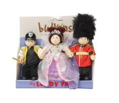 Le Toy Van-Miniature Dolls-Budkins Heart of London {Triple Pack}