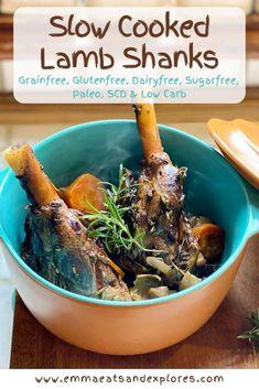 Slow Cooked Lamb Shanks - Emma Eats & Explores Sugar Cookie Recipe Easy, Easy Sugar Cookies, Chef Recipes, Healthy Recipes, Cooker Recipes, Delicious Recipes, Recipies, Dinner Recipes, Picky Eater Lunch