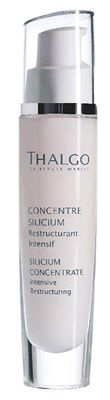 Thalgo Silicium Concentrate Intensive Restructuring Cellular Booster (All Skin Types) helps to fight against visible wrinkles and skin slackening. Wrinkles appear as if pushed out from the inside and facial contours seem lifted.