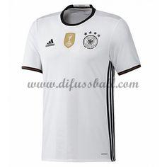 Nationaltrikot Deutschland 2016 Kurzarm Heim Fußballtrikots