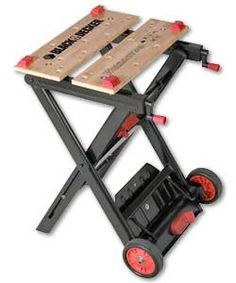 BLACK & DECKER WM540 Workmate - Bauhaus - 60-70 € ... Tata: lo reservo ... :-P Picnic Table, Bauhaus, Drafting Desk, Trust, Projects To Try, Workshop, Bench, Woodworking, Tools