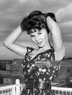 Schauspielerin, I- in Pose- 1956