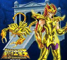 Los 12 caballeros de Oro de ND Animados con el estilo del Anime Clasico.