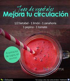 Hábitos Health Coaching | JUGO DE VEGETALES PARA MEJORAR LA CIRCULACIÓN