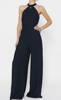 Paul Joe Navy Jumpsuit (not usually a jump suit fan but this one I would wear) Pretty Outfits, Cool Outfits, Fashion Outfits, Womens Fashion, Fashion Trends, Fashion Beauty, I Love Fashion, Fashion Design, Navy Jumpsuit