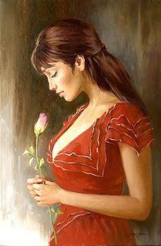 Painter Andrei Markin Beauty to beauty